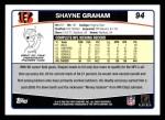 2006 Topps #94  Shayne Graham  Back Thumbnail