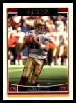 2006 Topps #43  Alex Smith  Front Thumbnail