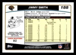 2006 Topps #188  Jimmy Smith  Back Thumbnail