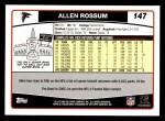 2006 Topps #147  Allen Rossum  Back Thumbnail