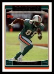 2006 Topps #83  Marty Booker  Front Thumbnail