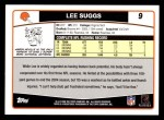 2006 Topps #9  Lee Suggs  Back Thumbnail