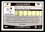 2006 Topps #26  Clinton Portis  Back Thumbnail
