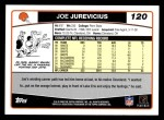 2006 Topps #120  Joe Jurevicius  Back Thumbnail
