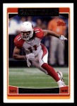 2006 Topps #258  Larry Fitzgerald  Front Thumbnail