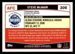 2006 Topps #306   -  Steve McNair All-Pro Back Thumbnail