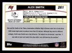 2006 Topps #261  Alex Smith  Back Thumbnail