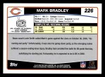 2006 Topps #226  Mark Bradley  Back Thumbnail