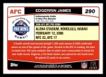 2006 Topps #290   -  Edgerrin James All-Pro Back Thumbnail