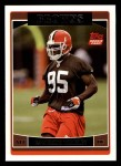 2006 Topps #342  Kamerion Wimbley  Front Thumbnail