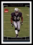 2006 Topps #356  Michael Huff  Front Thumbnail