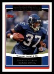 2006 Topps #309   Seattle Seahawks Front Thumbnail