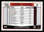 2006 Topps #284  Santana Moss  Back Thumbnail