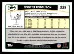 2006 Topps #229  Robert Ferguson  Back Thumbnail