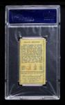 1911 T205  Miller Huggins  Back Thumbnail