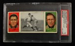 1912 T202 Hassan #20   -  David Shean / Frank Chance Chance Beats Out Hit  Front Thumbnail