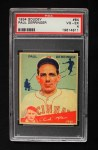 1934 Goudey #84  Paul Derringer  Front Thumbnail