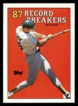1988 Topps #3 ERR  -  Mark McGwire Record Breaker Front Thumbnail