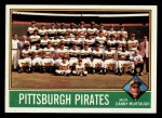 1976 Topps #504   -  Danny Murtaugh Pirates Team Checklist Front Thumbnail