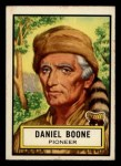 1952 Topps Look 'N See #55  Daniel Boone  Front Thumbnail