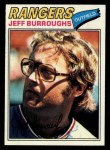 1977 Topps #55  Jeff Burroughs  Front Thumbnail