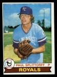 1979 Topps #183  Paul Splittorff  Front Thumbnail
