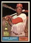 1961 Topps #262  Tony Curry  Front Thumbnail