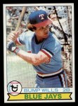 1979 Topps #369 ERR Bump Wills  Front Thumbnail