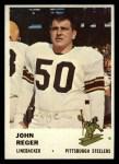 1961 Fleer #123  John Reger  Front Thumbnail