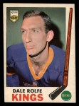 1969 O-Pee-Chee #100  Dale Rolfe  Front Thumbnail