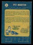 1969 O-Pee-Chee #75  Pit Martin  Back Thumbnail