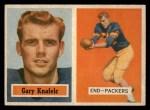 1957 Topps #45  Gary Knafelc  Front Thumbnail