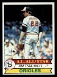 1979 Topps #340  Jim Palmer  Front Thumbnail