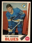 1969 O-Pee-Chee #14  Ron Anderson  Front Thumbnail