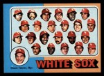 1975 Topps Mini #276   -  Chuck Tanner White Sox Team Checklist Front Thumbnail