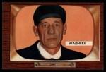 1955 Bowman #299  Lonnie Warneke  Front Thumbnail