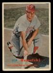 1957 Topps #245  Rip Repulski  Front Thumbnail