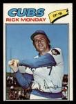 1977 Topps #360  Rick Monday  Front Thumbnail