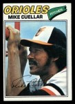 1977 Topps #162  Mike Cuellar  Front Thumbnail