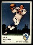 1961 Fleer #160  Paul Maguire  Front Thumbnail
