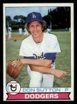 1979 Topps #170  Don Sutton  Front Thumbnail