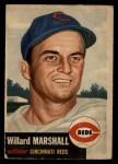 1953 Topps #95  Willard Marshall  Front Thumbnail