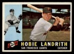 1960 Topps #42  Hobie Landrith  Front Thumbnail