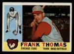 1960 Topps #95  Frank Thomas  Front Thumbnail