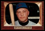 1955 Bowman #280  Clyde McCullough  Front Thumbnail