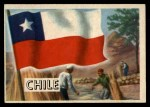 1956 Topps Flags of the World #69   Chile Front Thumbnail