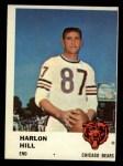 1961 Fleer #5  Harlon Hill  Front Thumbnail