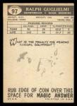 1959 Topps #97  Ralph Guglielmi  Back Thumbnail