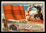 1956 Topps Flags of the World #62   Indo China Front Thumbnail