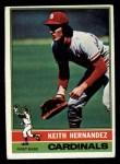 1976 Topps #542  Keith Hernandez  Front Thumbnail